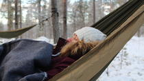 Cocooning in the HaliPuu forest: The ultimate Arctic hammock relaxation, Helsinki