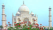 Sunrise & Sunset Taj Mahal Private Sightseeing Tour With Entrances & Lunch, Agra, Private ...