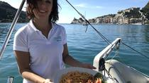 Cinque Terre Boat Tour with Wine and Food, La Spezia, Day Trips