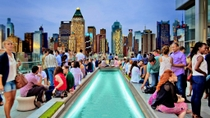 Erleben Sie New York Rooftop Lounge, New York City