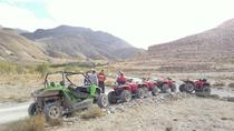 Quad biking adventure in the desert and palm grove of Marrakech