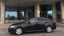 Taxi from Minsk Airport to City Center by Business Class Car Lexus 2012 year, Minsk, Airport & ...