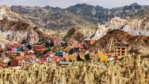 Private Tour: La Paz City Sightseeing and Moon Valley, La Paz