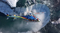 Ultieme tour naar de Niagara-watervallen plus helikoptervlucht en lunch in de Skylon Tower, ...