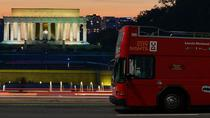Washington DC Double Decker Bus Guided Night Tour , Washington DC, Hop-on Hop-off Tours