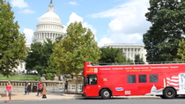Washington DC Hop-on-Hop-off-Tour mit Attractions Pass, Washington DC, Hop-on Hop-off-Touren