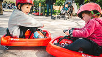 Athens Olympic Crazy Cart Driving and Mythology Games, Athens, Family Friendly Tours & Activities