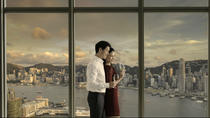 Sunset at the sky100 Hong Kong Observation Deck with Wine, Hong Kong, Attraction Tickets
