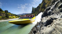 Queenstown Jet Boat Ride on Lake Wakatipu and the Kawarau and Shotover Rivers, Queenstown, null