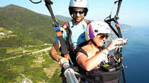 Paragliding over the Cinque Terre-Monterosso, Cinque Terre
