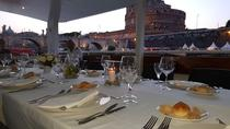 Rome Tiber River Night Cruise with Dinner
