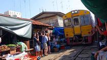 Maeklong Railway & Amphawa Floating Market with Firefly Boat Tour from Bangkok, Bangkok, Market...