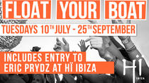 FLOAT YOUR BOAT - Dienstag - Das Sunset Boot, das dich holt Hï, Ibiza, Day Cruises