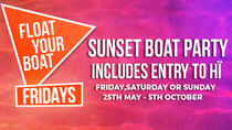 FLOAT YOUR BOAT - Friday - The Sunset boat that gets you Hï, Ibiza, Day Cruises
