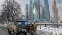 Moscow city tour onboard a classic soviet van, Moscow, Bus & Minivan Tours