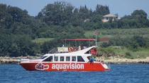 Aquavision Glassboat Katamaran, Istria, Glass Bottom Boat Tours
