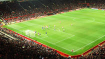 Manchester United Football Match at Old Trafford Stadium, Manchester