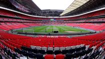 Tottenham Hotspur Football Match at Wembley Stadium, London, null