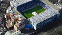 Voetbalwedstrijd Chelsea in stadion Stamford Bridge, London, Sporting Events & Packages
