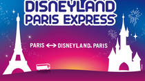 Disneyland Paris Express Shuttle with Entrance Tickets, パリ
