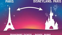 Disneyland Paris Park Entrance Ticket with Round-Trip Train from Paris, Paris, Disney® Parks