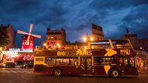 Big Bus Paris Night Tour with Optional Cruise and Hop-on Hop-off Day Pass, Paris, Rail Tours
