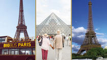 Skip the Line: Louvre, Seine River Cruise and Big Bus Hop-On Hop-Off, Paris, Hop-on Hop-off Tours