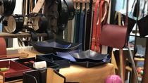Handmade leather workshop, Verona, Shopping Tours