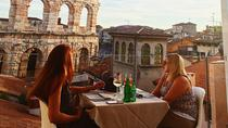 Rooftop Food and Wine Spaziergang mit Sonnenuntergang Aperitif, Verona, Food Tours