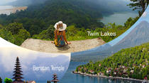 Private Transfer to Pemuteran Combination Beratan Temple, Twin Lakes & Munduk Waterfalls, Ubud, ...