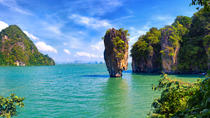 Excursion au départ de la baie de Phang Nga de Phuket en jonque traditionnelle, Phuket, Day ...