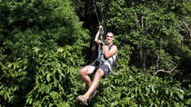 KOH SAMUI - Half Day Canopy Adventure from Samui Na Thon port, サムイ島
