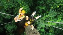 Rain Forest Canopy Zipline Adventure from Bangkok, Bangkok, Ziplines