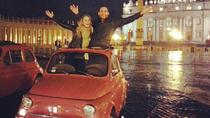 Fiat 500 - Tour bei Nacht durch Rom, Rome, Vespa, Scooter & Moped Tours