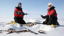 Lapland Ice Fishing Experience by Snowmobile from Luosto, Lapland, Fishing Charters & Tours