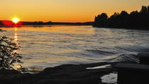 Midsummer Special: Evening Riverboat Cruise, Dinner and Midnight Sun Experience from Rovaniemi, ...