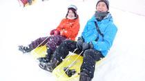 GALA Yuzawa Resort: Sledding, gondola free ticket, gloves purchase, and boots & snow wear rental...