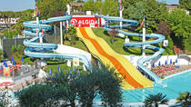 Hydromania Water Theme Park Private Roundtrip Transportation and Tickets, Rome