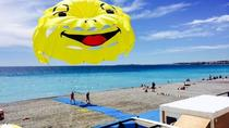 Parasailing in Nice, ニース