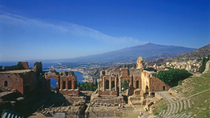 Private Transfer: Palermo to Taormina with Villa Romana del Casale and Agrigento Stops, Palermo, ...