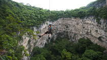 Chiapas Rappel Adventure at Sima de las Cotorras and Aguacero Waterfall, Tuxtla Gutiérrez, ...