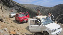 Crete 4x4 Safari Including Preveli Palm Beach and Kourtaliotiko Gorge, Kreta