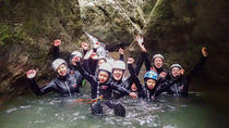 Family Canyoning, Bled, Climbing