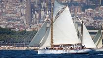 Classic yacht tour in Barcelona, swimming and appetizer in Bon Temps 1926, Barcelona