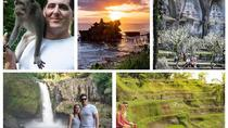 Sunset at Tanah Lot Temple - Tagenungan Waterfall and Ubud Tour, Kuta, Attraction Tickets