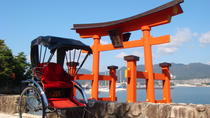Miyajma Rickshaw Tour Including Itsukushima Shrine, Hiroshima, Custom Private Tours