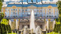 Peterhof palace and gardens tour with hydrofoil ride, St Petersburg