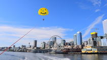 Parasailing over The Seattle Waterfront with Parasail Seattle, Seattle, Parasailing