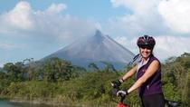 Tour in mountain-bike a binario unico nel vulcano Arenal, La Fortuna