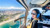360 Luxury Tour: Open Top Minibus, Helicopter flight and Boat Tour Barcelona Premium Small Group,...